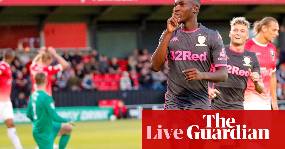 Champions League and Carabao Cup updates: football clockwatch – live!