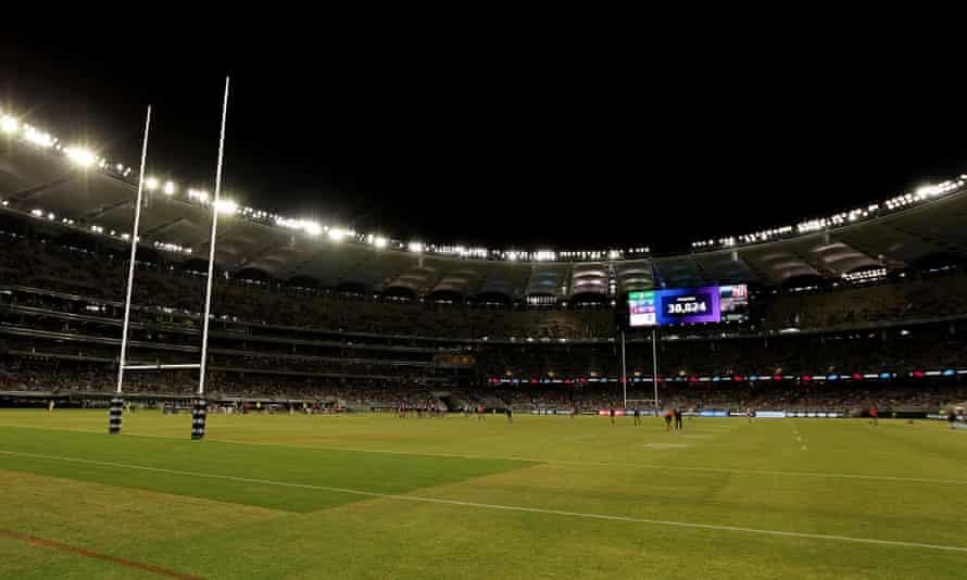 Optus Stadium in Perth