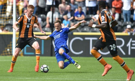 Sam Clucas, left, starred in Hull City's unlikely victory over Premier League champions Leicester City.