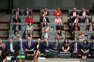 Bill Shorten delivers his budget reply in the house of representatives.