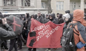 A far-right protest in Leipzig … Panorama: Germany's New Nazis.