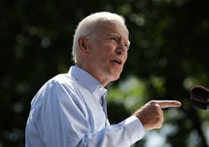 """In comments on Monday, Biden said that despite major disagreements he had worked with the senators with """"some civility"""""""