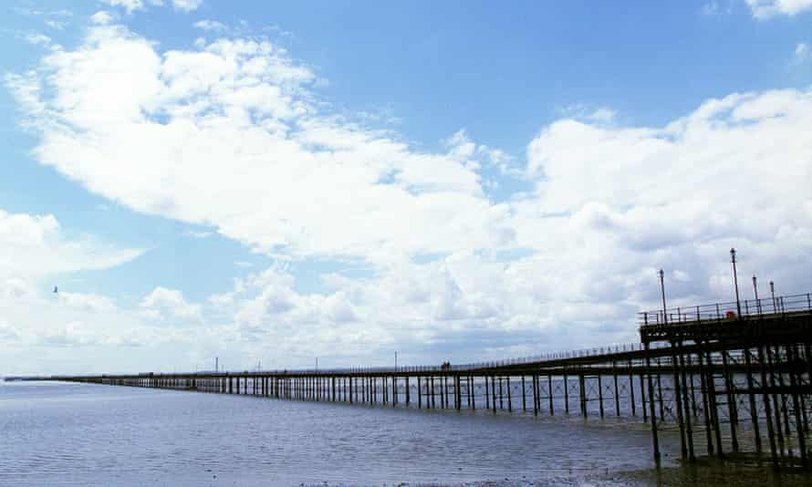 the pier in Southend.