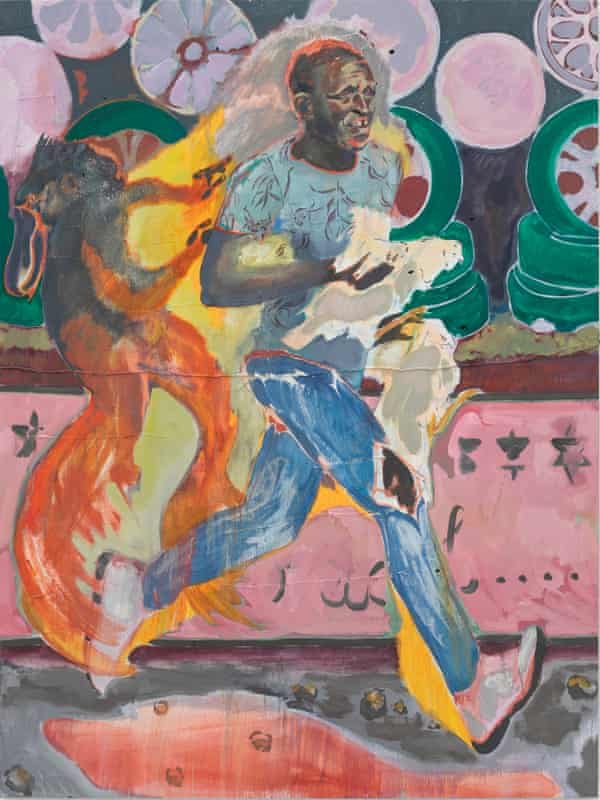 The Chicken Thief, 2019 by Michael Armitage.
