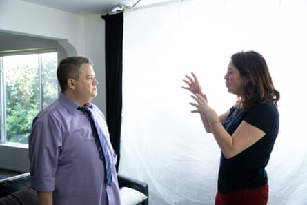 Patton Oswalt and Liz Garbus