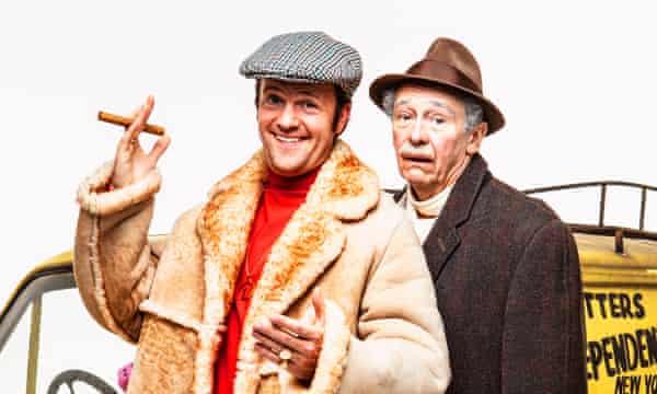 Stars of the musical … Tom Bennett as Del and Paul Whitehouse as Grandad.