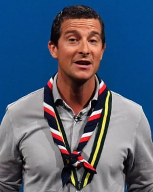 Chief scout Bear Grylls: 'We've come a long way since Scouting for Boys'