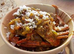Seafood at Surya Beach Cafe