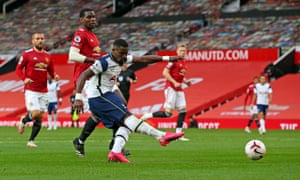 Serge Aurier powers a shot in