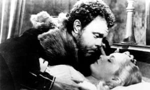 Orson Welles in Othello, 1952.