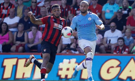 Guardiola has enviable options but Manchester City's flaws on flanks   Ed Aarons