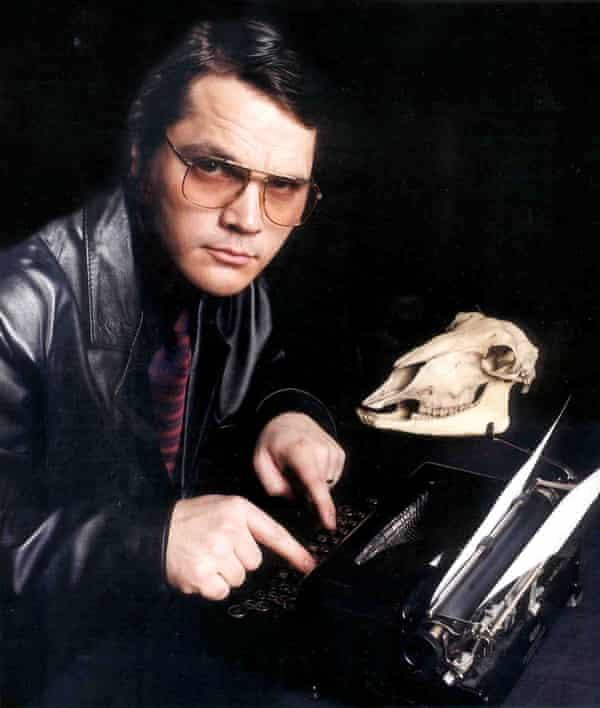 Garth Marenghi at his writing desk.