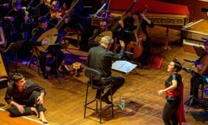 Really clever … Monteverdi's Il Ritorno d'Ulisse in Patria at Colston Hall.
