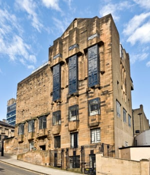 The great Charles Rennie Mackintosh's Glasgow School of Art.
