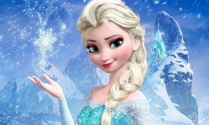 Princess Elsa in Disney's Frozen
