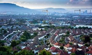 View over East Belfast.