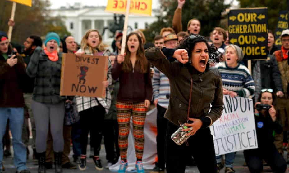 'It's only now that the environmental movement is less racist than it's ever been,' said Heidi Beirich of the Southern Poverty Law Center.