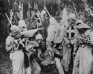 Scene From The Birth of a Nation, 1915.