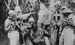 A still from The Birth of a Nation