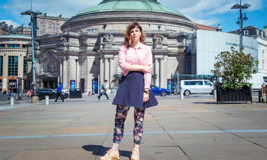 'With 59 Productions, it's been a true collaboration' … Anna Meredith outside Usher Hall, Edinburgh, 2018
