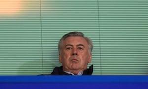 Carlo Ancelotti Football The Guardian