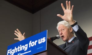 bill clinton campaigning