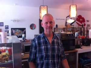 Stephan Baumanns, cafe owner