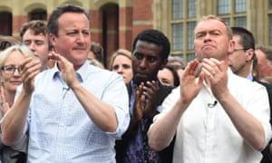 David Cameron and Tim Farron