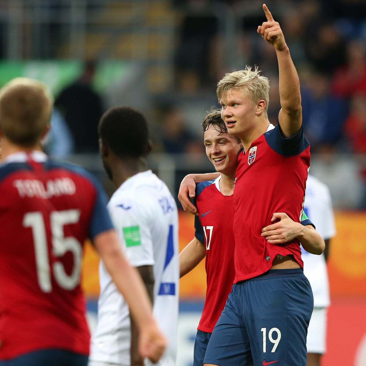 Erling Braut Haland Breaks U 20 World Cup Record With Nine Goals In One Match Norway The Guardian