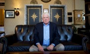 Bruce Haines at Historic Hotel Bethlehem.