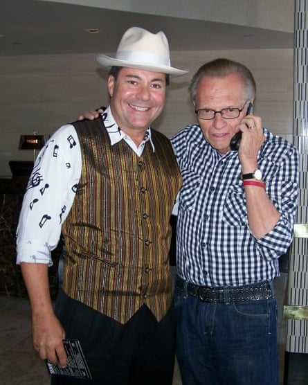 Al Bowman with Larry King.