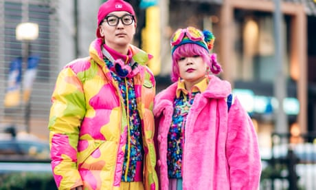 'We think it's cute': the Tokyo husband and wife who match outfits