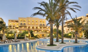 Gozo is famous for spectacular hotels, such as the Kempinski