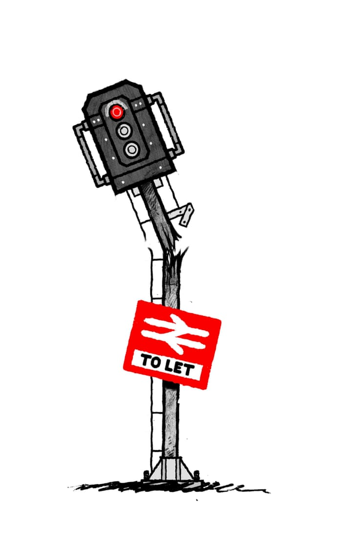 The Train Company That Has Ideas Above Its Station David Mitchell Stop Signal Override For Model Railways Opinion Guardian