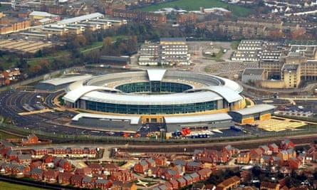 The GCHQ headquarters in Cheltenham.