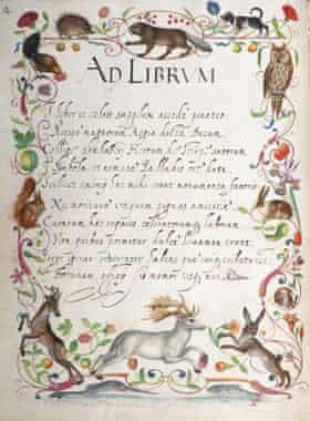 Latin poems in Das Großes Stammbuch.