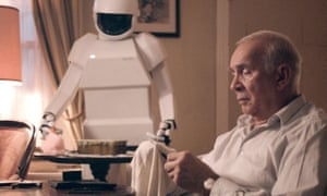 A still from the film Robot & Frank (2012)