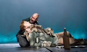 The modern Prometheus - Benedict Cumberbatch with Jonny Lee Miller as the Creature in Frankenstein by Nick Dear at London's Olivier Theatre.