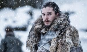 Jon Snow AKA Game of Thrones answer to Al Gore