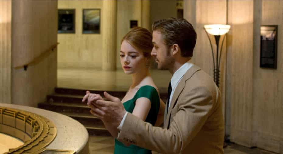 The 'note-perfect' Emma Stone and Ryan Gosling in Damien Chazelle's 'triumphant' La La Land
