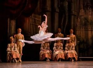 Yasmine Naghdi in The Sleeping Beauty at the Royal Opera House.