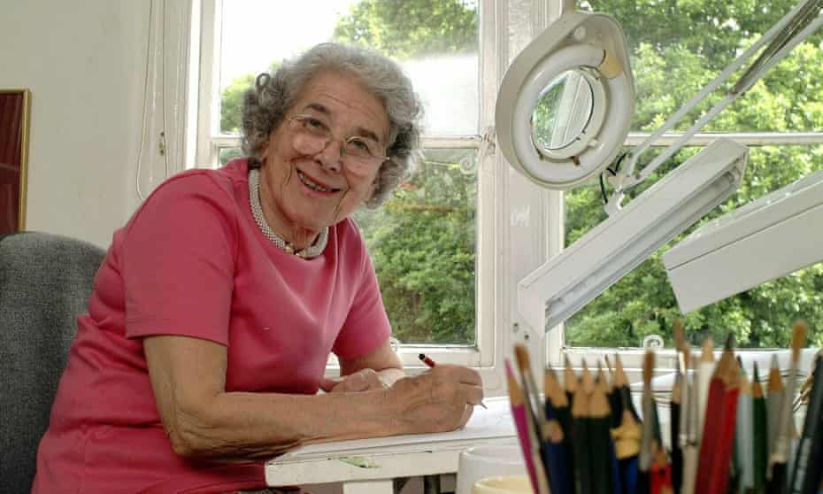 The late Judith Kerr.