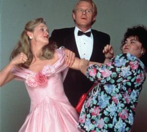Meryl Streep, Ed Begley Jr and Roseanne Barr in the 1989 Weldon adaptation She-Devil..