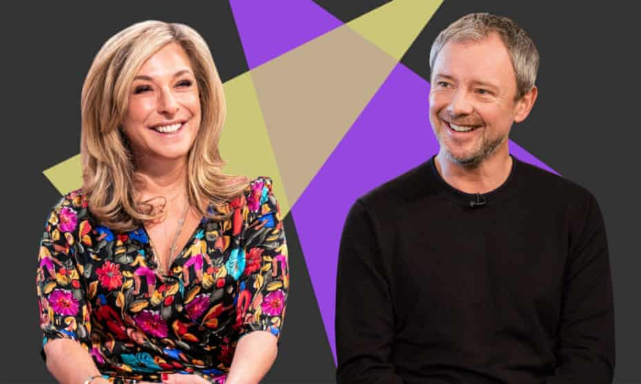 Tracy-Ann Oberman and John Simm: 'There's much more bravery and creativity in casting for the stage.'