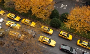 Yellow cab owners are suing New York City for letting Uber operate.