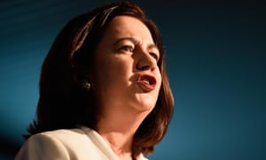 Queensland's premier, Annastacia Palaszcuk, proposes to wind back laws that increased secrecy around political donations as her government's first bill before parliament.