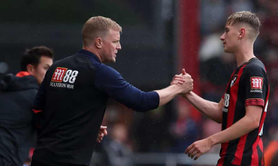 Brooks has said Eddie Howe's 'one-on-one' coaching style was a factor in his decision to join Bournemouth.