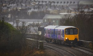 A Northern train in Accrington