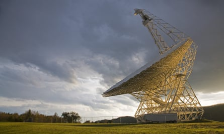 The Robert C Byrd Green Bank Telescope at the National Radio Astronomy Observatory, Green Bank, West Virginia, US