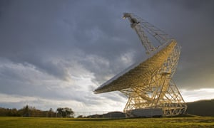Searching the deep space: The Robert C Byrd Green Bank telescope at the National Radio Astronomy Observatory, part of the Listening Project, in Green Bank, West Virginia, US.